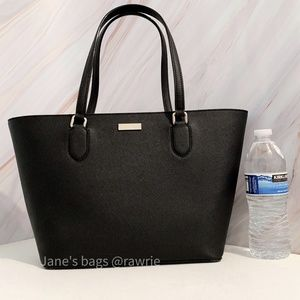 SALE New Kate Spade Black Saffiano Leather Tote